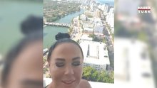 Safiye Soyman, Seda Sayan'ın Miami'deki evinde tatilde