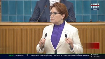 İYİ Parti lideri Akşener'den müsilaj açıklaması