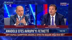 Teke Tek - 8 Haziran 2021 (Anadolu Efes'in şampiyonluk hikayesi)