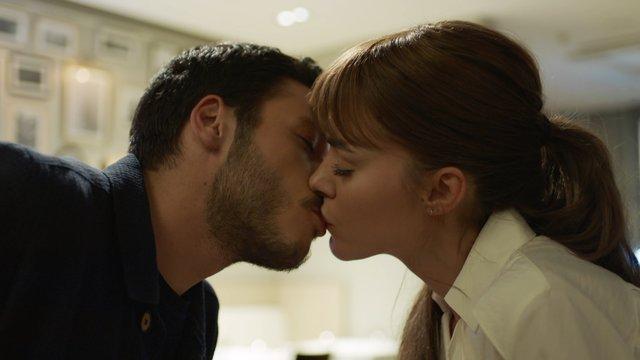 ''İlk öpücük!''