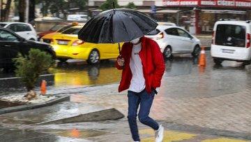 Bu illerde yaşayanlar dikkat! Meteoroloji'den sağnak yağış uyarısı!