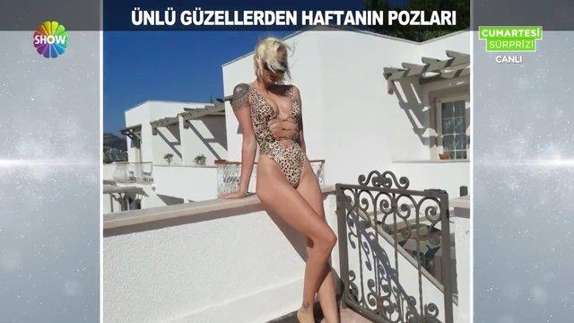 Bikinili ünlüler, mayolu ünlülere karşı!