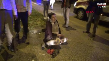 Erzurum'da kavşaktaki kazada can pazarı yaşandı: 10 yaralı