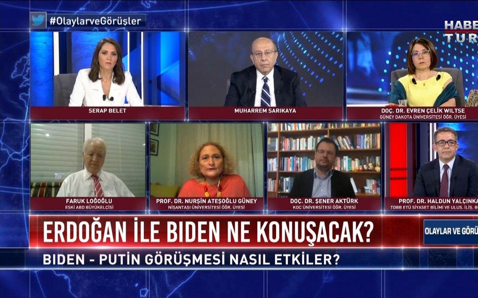 Olaylar ve Görüşler - 12 Haziran 2021 (Türkiye ABD arasında buzlar erir mi?)