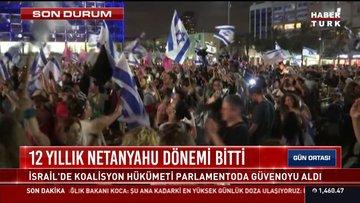 12 yıllık Netanyahu dönemi sona erdi: İsrailliler Netahyahu'nun gidişini kutladı!