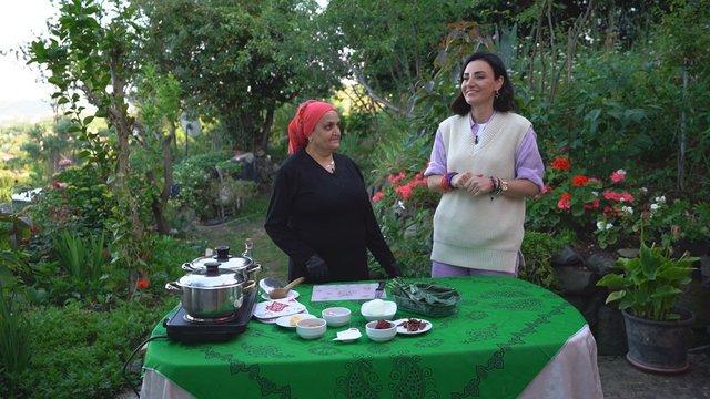 Trabzon'un eşsiz lezzetlerinden yarmalı karalahana
