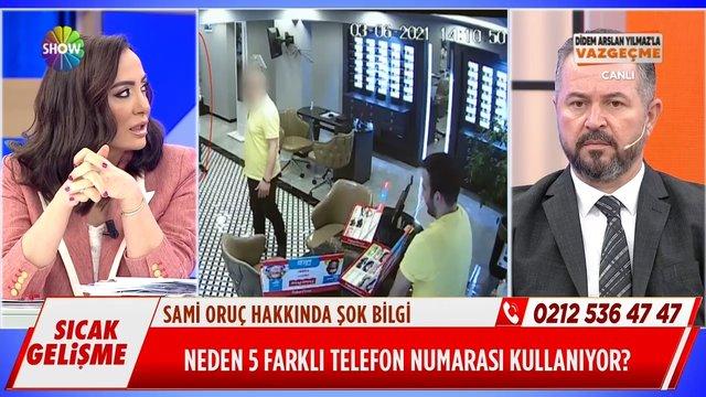 Sami Oruç neden 5 farklı telefon numarası kullanıyor?