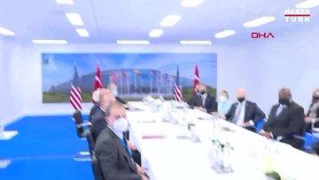 Erdoğan-Biden heyetlerarası görüşmesinden ilk görüntüler