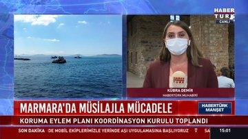 Marmara'da müsilajla mücadele