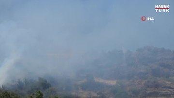 Bodrum'da yükselen dumanlar korkuttu