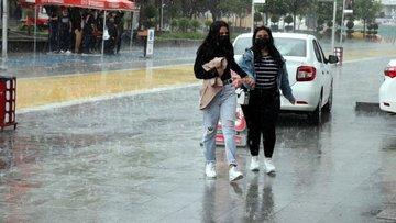 Dikkat! Meteoroloji'den sağanak yağmur uyarısı
