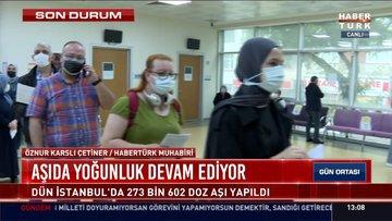 Hastanelerde aşı yoğunluğu var mı?