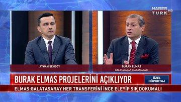 Galatasaray Başkan Adayı Burak Elmas soruları yanıtlıyor | Özel Röportaj - 16 Haziran 2021