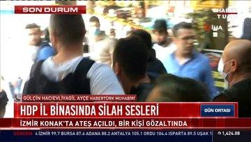 HDP il binasında silah sesleri