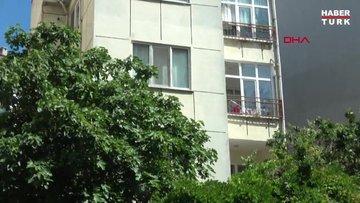 2 yaşındaki kızını pencereden attı