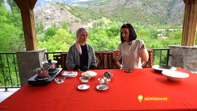 Doğu Karadeniz'in düğün yemeği soğan muhla