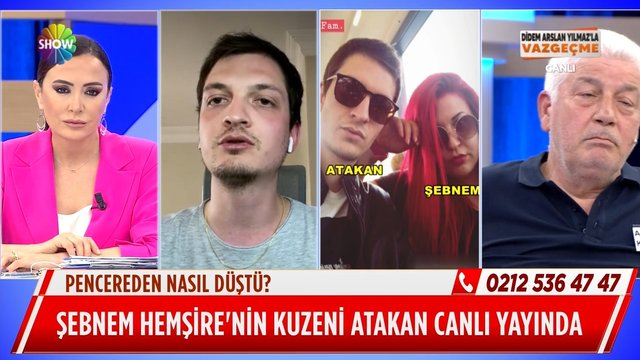 Şebnem Hemşire İstanbul'a gideceğini kime haber verdi?