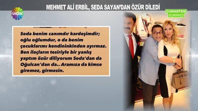 Seda Sayan ile Mehmet Ali Erbil birbirine girdi!