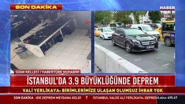 İstanbul'da korkutan deprem! İşte ayrıntılar....