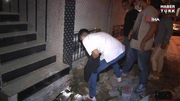 Zeytinburnu'nda yılan paniği! Mahalleli sokağa döküldü