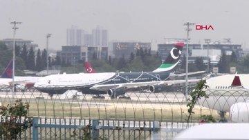 Libya Cumhurbaşkanlığı uçağı, 7 yıl sonra ülkesinde
