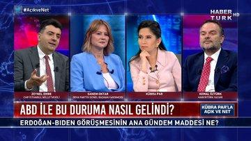 Erdoğan-Biden görüşmesinin ana gündem maddesi ne?   Açık ve Net - 13 Haziran 2021