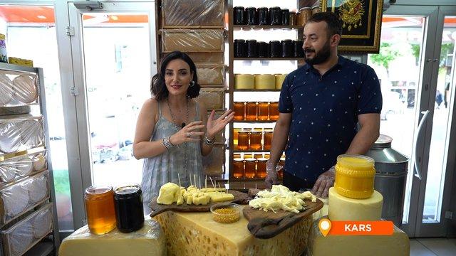 Kars'ın dünyaca ünlü peynirleri!