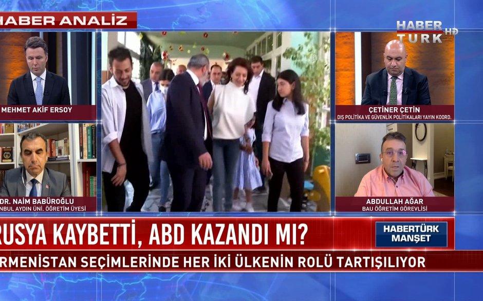 """Habertürk Manşet - 21 Haziran 2021 (Paşinyan """"Savaş kaybeden lider"""" olarak nasıl kazandı?)"""