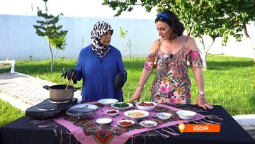 Iğdır'ın yerel lezzetlerinden özgöz