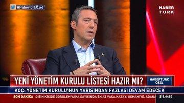 Ali Koç, HABERTÜRK'te! - 1