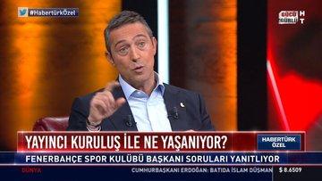 CANLI | Ali Koç, HABERTÜRK'te! - 2