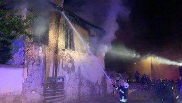 Konya'da facia! 3 küçük kız kardeş yangında öldü