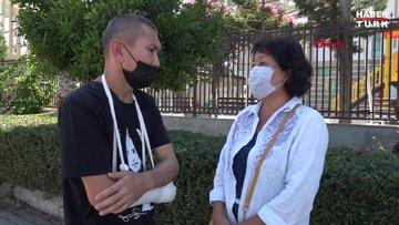 Kazak kadın 10 gündür kayıp kardeşini arıyor