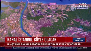 Kanal İstanbul böyle olacak!