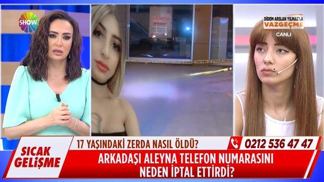 Zerda'nın arkadaşı Aleyna neden kaçıyor?