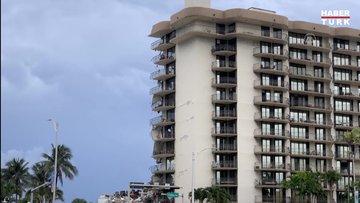 Miami'de 12 katlı bina kısmen çöktü: 1 ölü, 8 yaralı