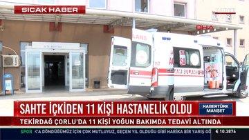 Sahte içkiden 11 kişi hastanelik oldu