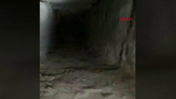 Kaçak kazı yaparken yeraltı şehri buldular