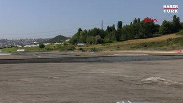 Kanal İstanbul Sazlıdere Köprüsü temel atma töreni için hazırlıklar tamamlandı