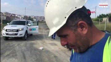 Arnavutköy'de rögarda define avı