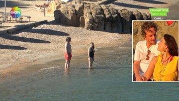 Ünlülerin Akdeniz sahillerindeki renkli görüntüleri!