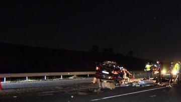 Ankara'da feci kaza! 3 kişi öldü, 1 kişi yaralandı