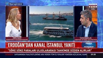 Kanal İstanbul'un ilk temeli atıldı