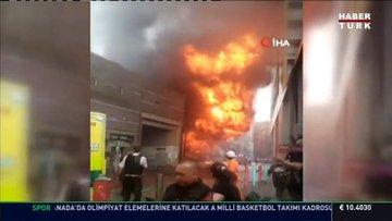 İngiltere'de istasyonda patlama