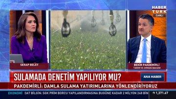 Tarım ve Orman Bakanı Bekir Pakdemirli'den önemli açıklamalar