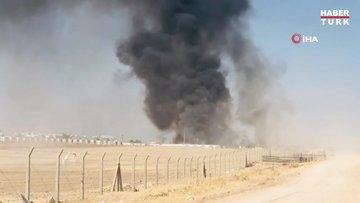 Şanlıurfa'daki çadırkentte yangın çıktı!