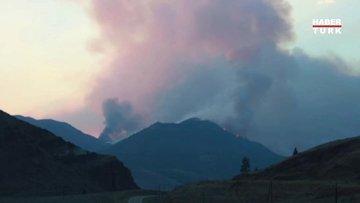 Kanada'da rekor sıcaklık görülen köyün tamamına yakını yandı