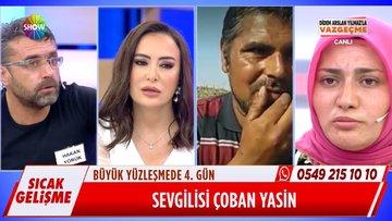 Ebru Hanım'ın sevgilisi Yasin Bey canlı yayında!