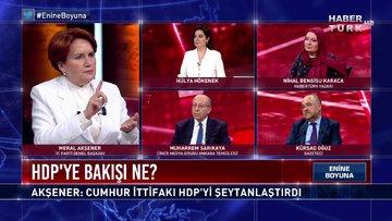 HDP'ye bakışı ne? Meral Akşener yanıtlıyor | Enine Boyuna - 2 Temmuz 2021