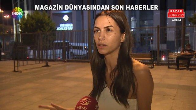 Ayşegül Çınar'ın olaylı gecesi!